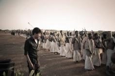 Director Bala at On the Sets of Paradesi