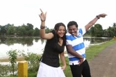 Karunas and Shwetha Basu Prasad