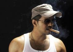 Vijay's Cigar Smoking Still
