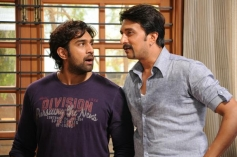 Chiranjeevi Sarja and Sudeep Still