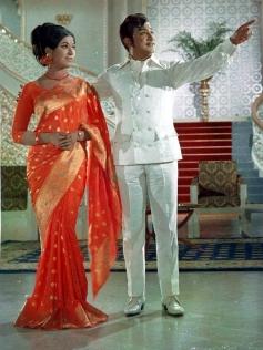Vanisree and Sivaji Ganesan