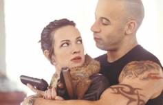 Asia Argento and Vin Diesel