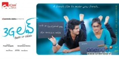 Telugu Movie 3G Love Poster