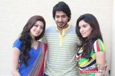 Pranitha, Prajwal Devaraj and Hardhika Shetty