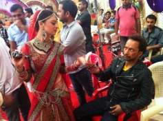 Dabangg 2 On Location Still of Sandeepa Dhar