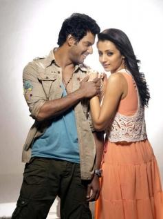 Trisha Krishnan and Vishal