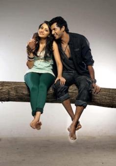 Vishal and Trisha Krishnan