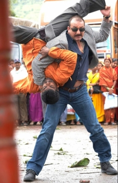 Sanjay Dutt in Action