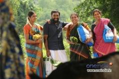 Sasikumar, Lakshmi Menon, Saranya Ponvanna, Prabha