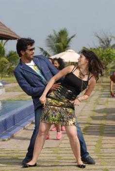 Vinay and Lakshmi Rai Romantic Still
