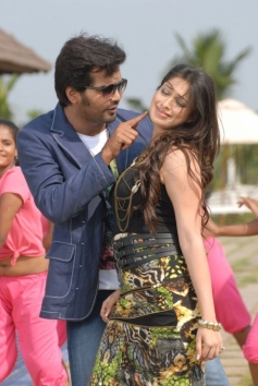 Vinay and Lakshmi Rai