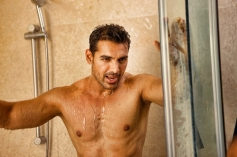 John Abrahan Shower Still From I Me Aur Main