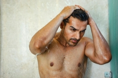 John Abrahan in Shower Still From I Me Aur Main