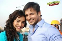 Neha Sharma and Vivek Oberai Still From Jayanta Bhai Ki Luv Story
