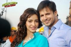 Neha Sharma and Vivek Oberai