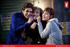 Saqib Saleem, Prabal Panjabi and Rhea Chakraborty