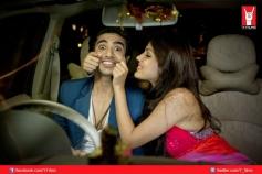 Saqib Saleem and Rhea Chakraborty