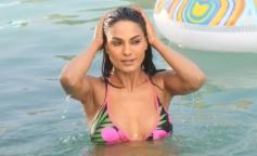 Veena Malik Bikini Still From Mumbai 125 KM 3D