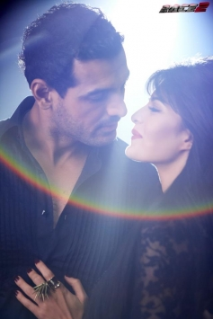 John Abraham and Jacqueline Fernandez Romantic Still