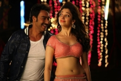 Ajay Devgan and Tamannaah Still