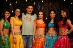 Sajid Khan with 5 Item Girls