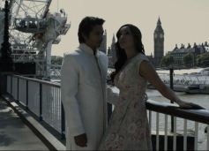 Raj Ghatak and Sofia Hayat Still From Naachle London