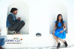 Sudeep and Parul Yadav Still From Bachchan