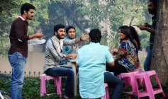 Actress Nithya Menon in JK Enum Nanbanin Vaazhkai Movie Stills