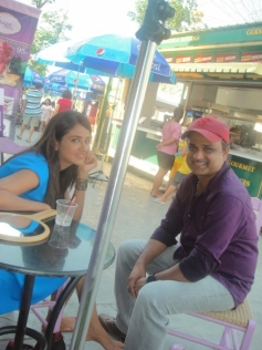 Parul Yadav & Shashank - Hello Hello Song Shooting at Bangkok