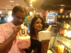 Parul Yadav With Director Shashank