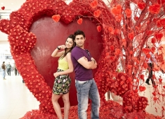 Chetna Pande and Ruslaan Mumtaz Still From I Dont Luv U