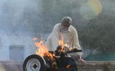 Amitabh Bachchan Still From Satyagraha