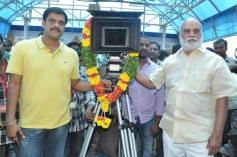 K Raghavendra Rao at Pandavulu Pandavulu Tummeda Movie Launch