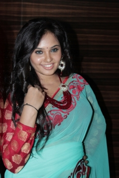 Aarushi at Adithalam Audio Launch