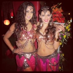 Maryam Zakaria and Scarlett Mellish Wilson
