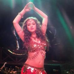 Maryam Zakaria at On the Sets of Film Bhajathe Raho