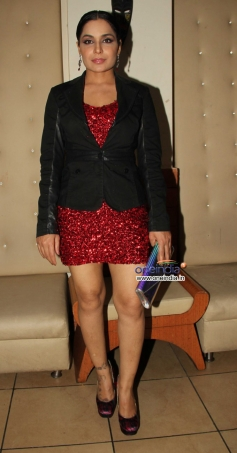 Meera at Prerelease Party of Bhadaas