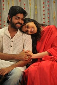 R Vivek and Actress Megha Burma