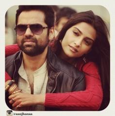 Abhay Deol and Sonam Kapoor Still From Raanjhnaa