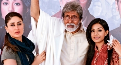 Kareena Kapoor and Amitabh Bachchan