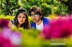 Shanvi and Sushanth Still From Adda Film