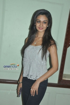 Aishwarya Arjun at Pattathu Yaanai Movie Interview