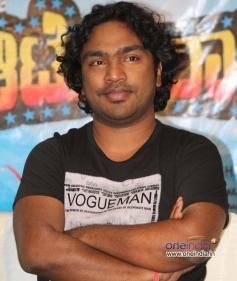 Arjun Janya at Auto Raja Success Meet