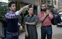 Tusshar Kapoor, Vinay Pathak and Ranvir Shorey still from Bajatey Raho