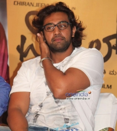 Chiranjeevi Sarja at Whistle Success Meet