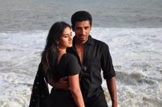 Harshika Poonachcha and Thanush in Kannada Film Ale