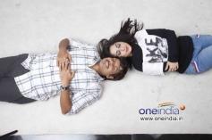 Akul Balaji and Aishwarya Nag in Kannada Film Loosugalu