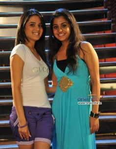Jasmine and Meera Nandan in Kannada Movie Karodpathi