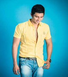 Jiiva's Cinema Spice magazine cover shoot 2013