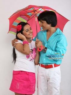 Apoorva Arora and Master Kishen in Kannada Movie Teenage